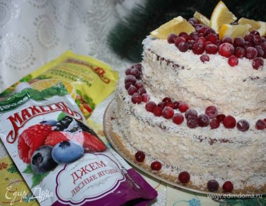 Торт «Новогодний»