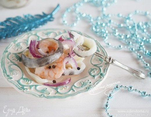 Саламур из рыбы и морепродуктов