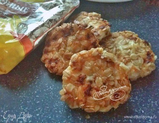 Сырники в овсяной панировке