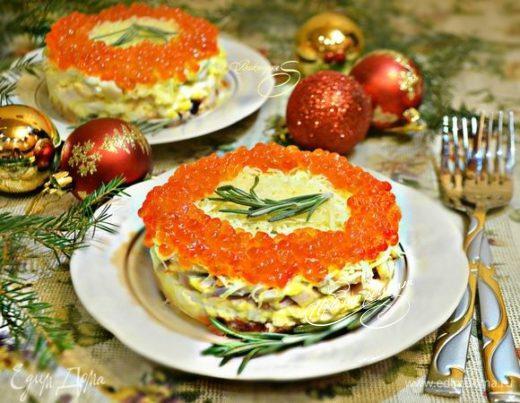 Салат из морепродуктов «Радость моряка»