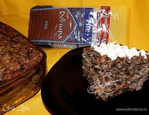 Полезная запеканка с рисом и печенью