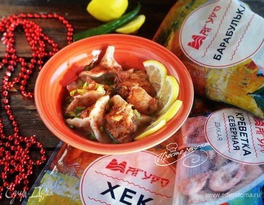 Вьетнамский рыбный суп с пельменями