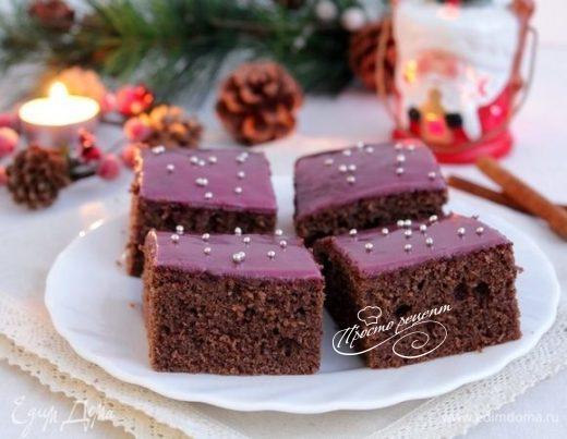 Рождественский пирог с глинтвейном