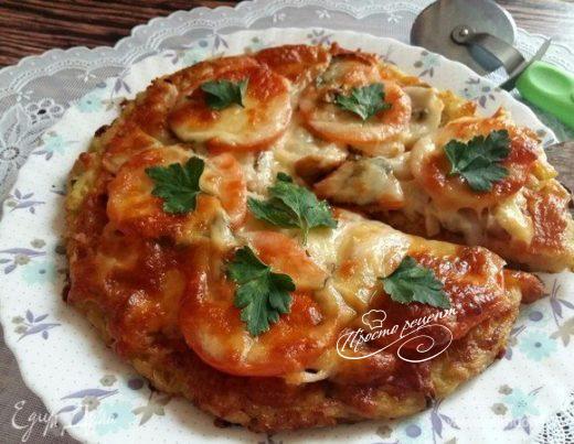 Быстрый картофельный пирог «А-ля пицца»