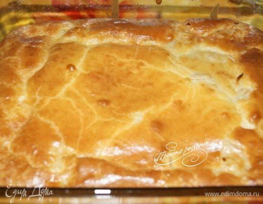 Заливной пирог от Паночки