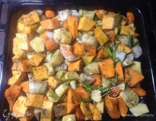 Запеченные овощи. Ужин налегке