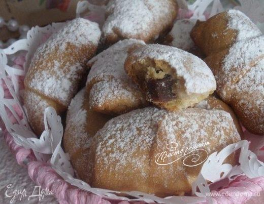 Медовое печенье с абрикосовым лавашем