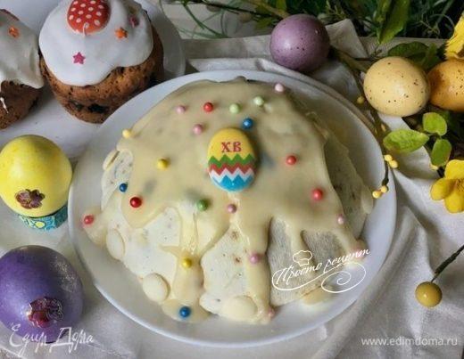 Творожная пасха  «Сливочное облако» без яиц