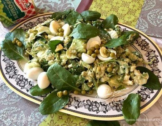Легкий салат «Апрель»