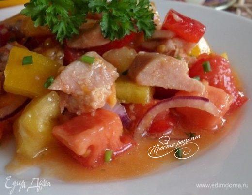 Салат «Быстро, вкусно, полезно»