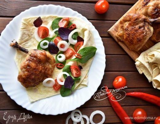 Курица на косточке по-турецки «Тавук Пирзола»