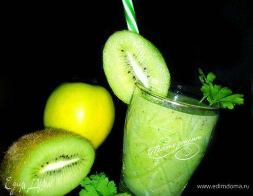 Смузи «Зеленый бархат»