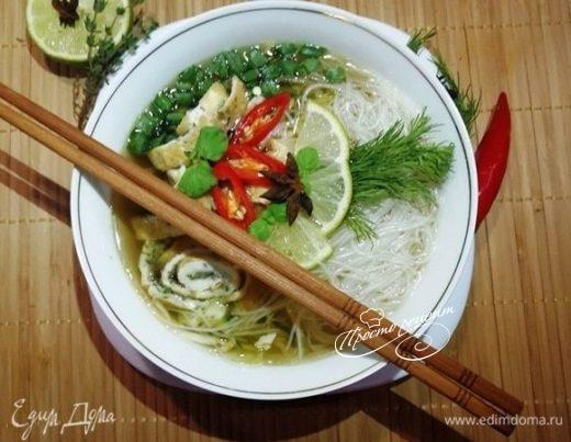 Холодный азиатский суп
