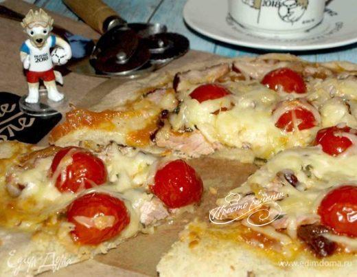 Пицца с карбонадом