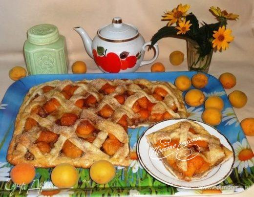 Пирог «Корзина с фруктами»