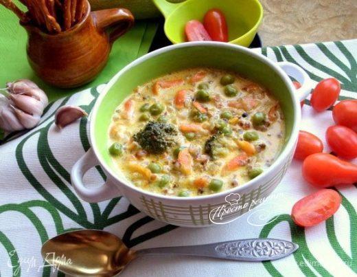 Гречневый суп «Сливочный»