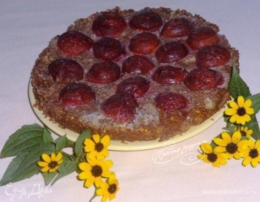 Пирог со сливами «Экспериментальный»