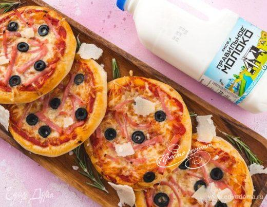 Домашние мини-пиццы