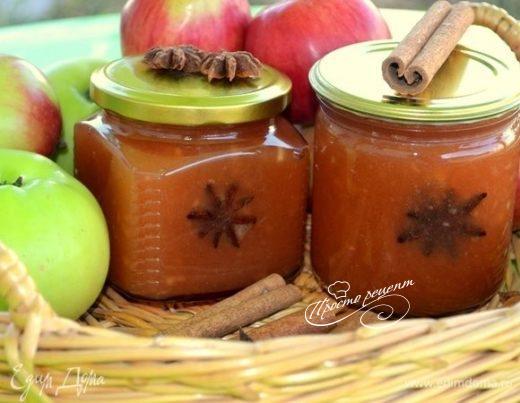 Яблочный джем «Янтарный»