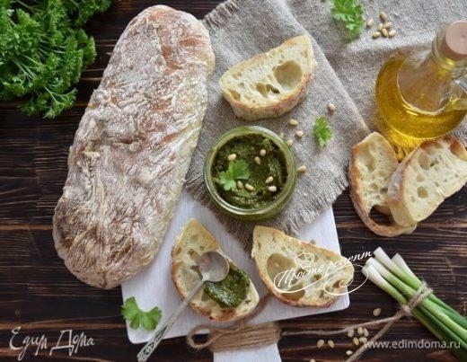 Классический соус песто с базиликом