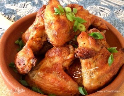 Куриные крылышки по-техасски