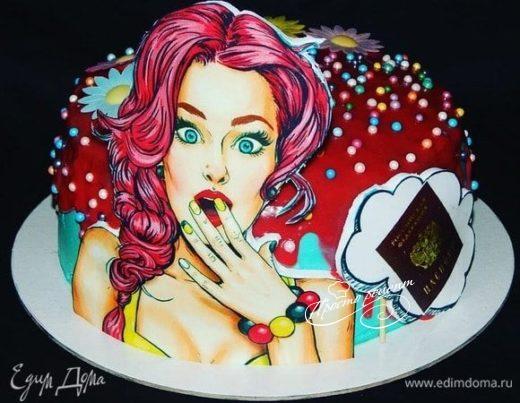 Торт «Пряная вишня»