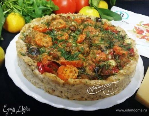 Запеканка из курицы и овощей