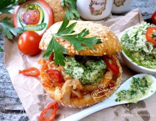 Лампредотто или флорентийский бутерброд