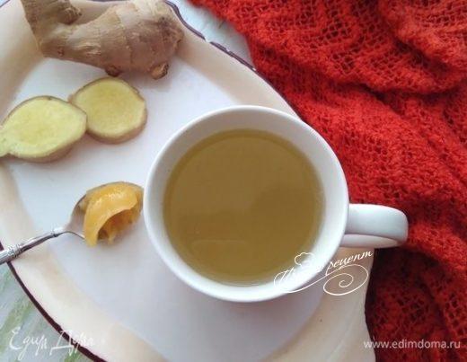 Витаминный напиток с имбирем