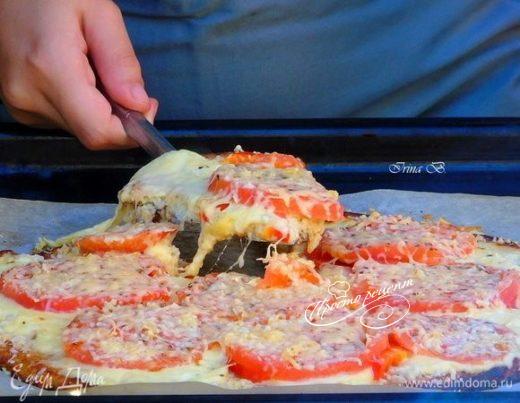 Овощная пицца без муки
