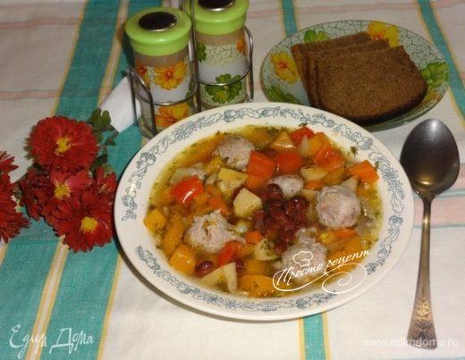 Суп с фрикадельками «Осенний вальс»