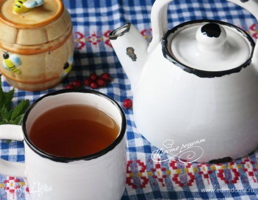 Чай из боярышника и мяты