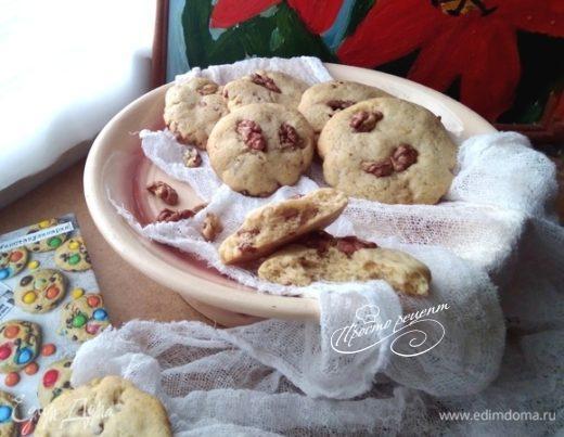 Печенье с орехами и специями