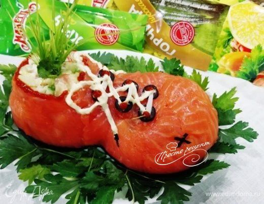 Рыбный салат «Старенький башмачок»