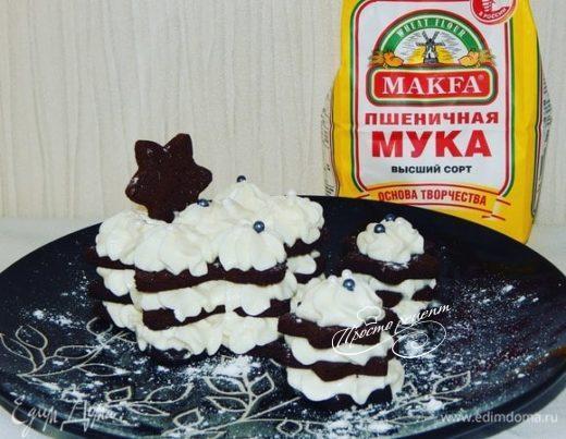 Пирожные «Снежинки»