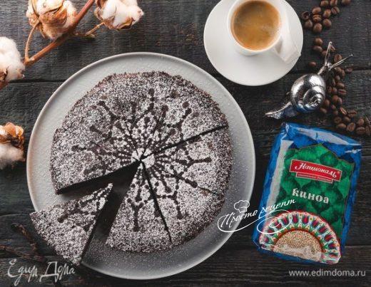 Шоколадный пирог с киноа