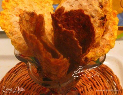 Картофельные и капустные вафельки