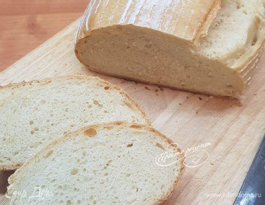 Хлеб пшеничный на спелом тесте