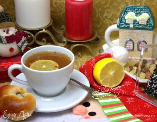 Чай с кокосом