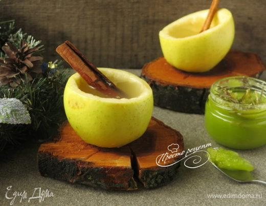 Напиток яблочный с пряностями
