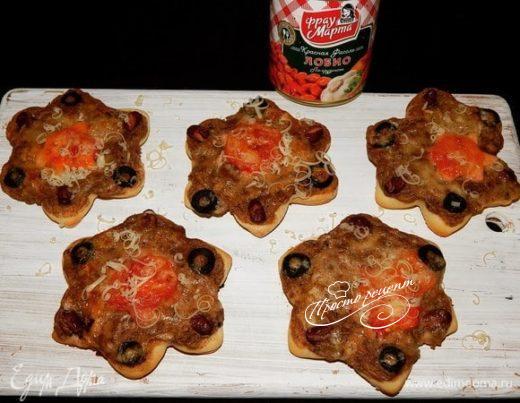Мини-пиццы «Лобио»