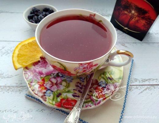 Ягодный чай с апельсином