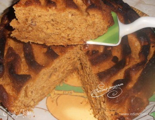 Пирог «Карамелия с арахисом»