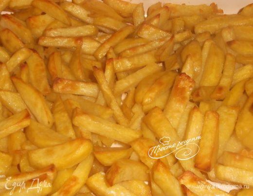 Картофель, жаренный в духовке