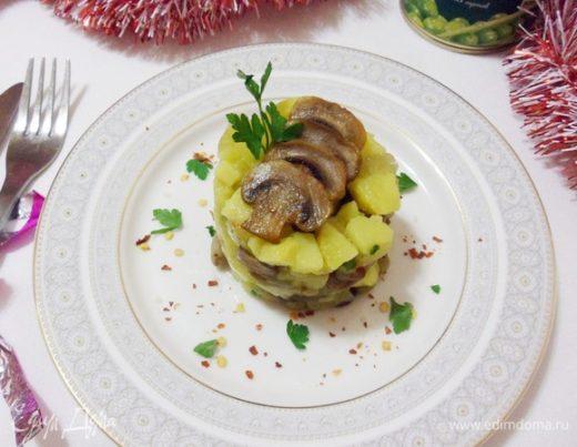 Оливье вегетарианский