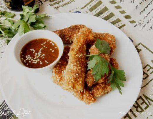 Курица по-китайски с острым соусом