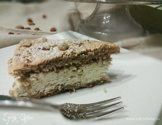 Французский ореховый торт