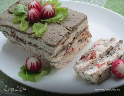 Террин из ростбифа с йогуртом