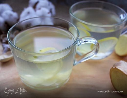 Напиток имбирный с лимоном и медом