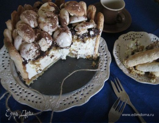 Торт «Зимняя фантазия»